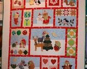 Critter Christmas Quilt K...