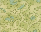 Mimi Drapery Sprig  Cotton Fabric 16092 15 Moda - 1/2 yard