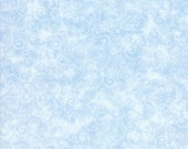 Moda Fabric - Marble Swirl - Sky Blue - Light Blue - 1/2 yard - 9908 - 34 Light Sky Blue with swirls - Cotton Fabric