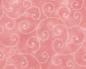 Moda Fabric - Marble Swirls Pink Sherbet - 9908 18- 1/2 yard - Pink with swirls - Cotton Fabric