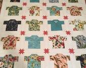 Sunshine Quilt Kit - Hawaiian Shirts - Moda Fabric - Collection for a Cause - Howard Marcus