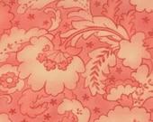 Moda Fabric - Mimi Drapery Coral  Cotton Fabric 16092 11 Moda - 1/2 yard