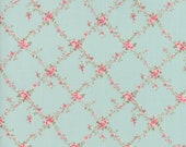 Moda Fabric - Caroline by Brenda Riddle - 1/2 yard - 18651-12 floral Print - Cotton Fabric