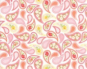 Moda Fabric - Mama's Cottage - 1/2 yard - 24052-21 Paisley Print - Cotton Fabric