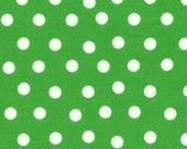 Moda Fabric - Berenstain Bears - Welcome To Bear Country Cotton Fabric - Green Dot - Fat Quarter