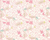 Moda Fabric - Caroline by Brenda Riddle - 1/2 yard - 18655-12 floral Print - Cotton Fabric