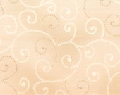 Moda Fabric - Marble Swirl - Light Tan -  1/2 yard - 9908 - 49 Light Tan with swirls - Cotton Fabric