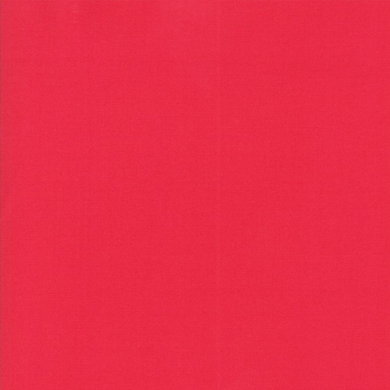 Moda Fabric  Bella Solids  Raspberry rosier than the image 0