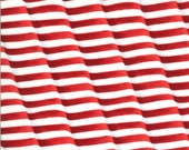 Moda Fabric -America the Beautiful by Deb Strain - 1/2 yard - 19985 11  Red and white flag stripes - Cotton Fabric