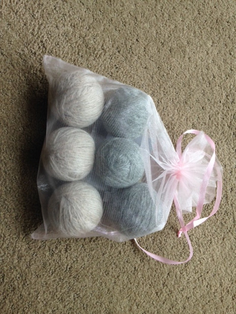 Wool Dryer Balls  100% Wool image 0