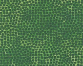 """Moda Fabric - Starflower Christmas by Create Joy Project - 8485 20- Cotton Fabric - green with green dots - 44"""" wide - 1/2 yard"""