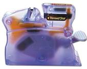 Clover Desk Needle Threader - Purple - Threads hand sewing needles