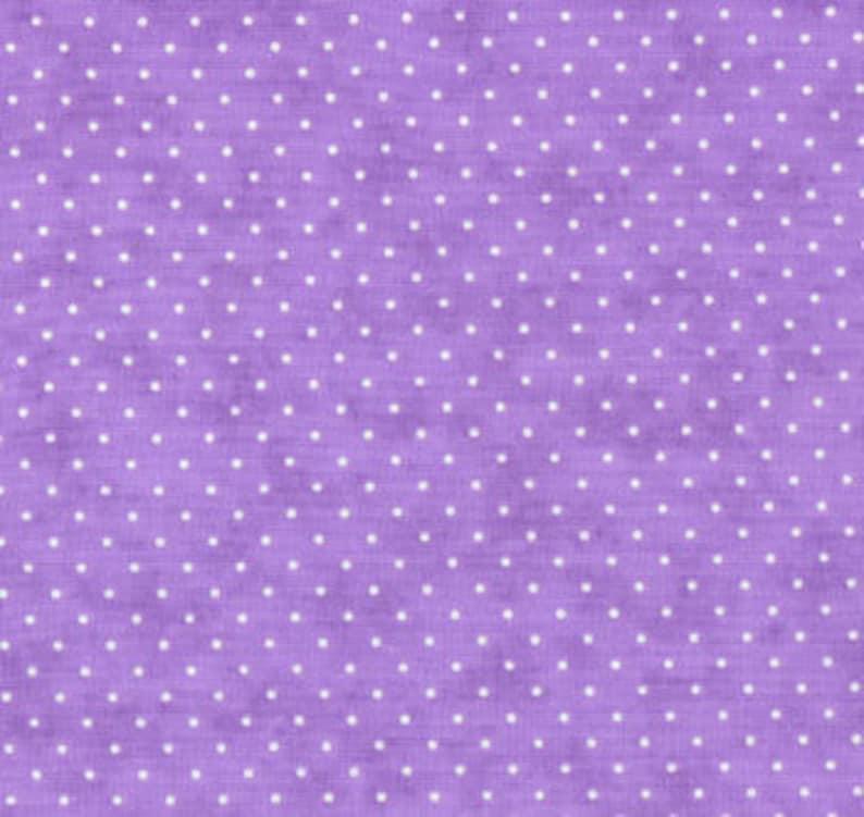 Moda Fabric  Essential Dots  Lilac color  1/2 yard  8654  image 0