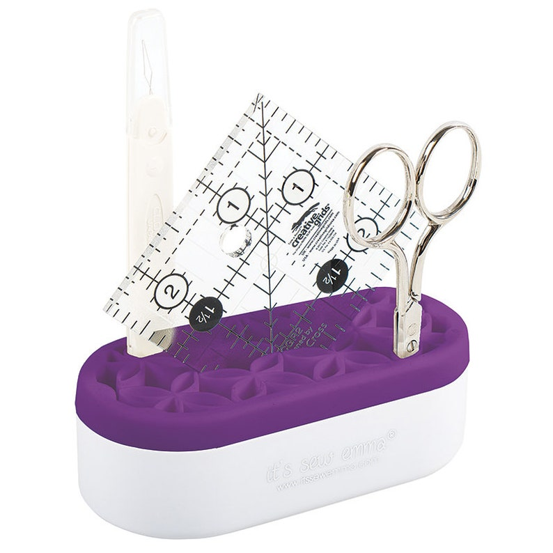 It's Sew Emma Mini Stash n Store  Purple  Tool caddy image 0