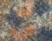 "Batik - Moda Reflections II by Holly Taylor - 4099 20 - 100% cotton Brown, blue, green batik fabric - 44"" wide - 1/2 yard"
