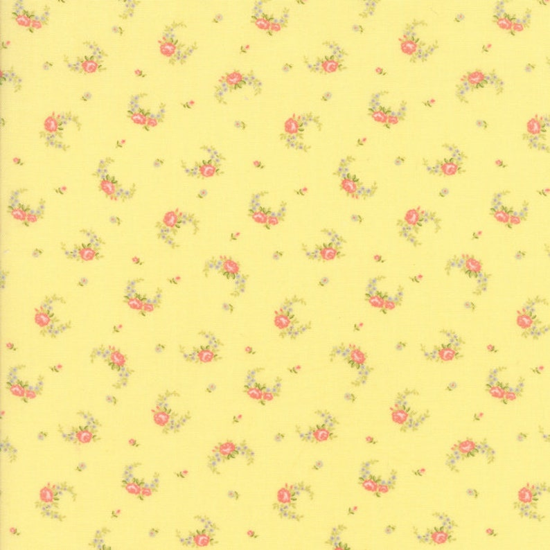 Guernsey Fabric  Brenda Riddle for Moda  18643 14  1/2 Yard image 0