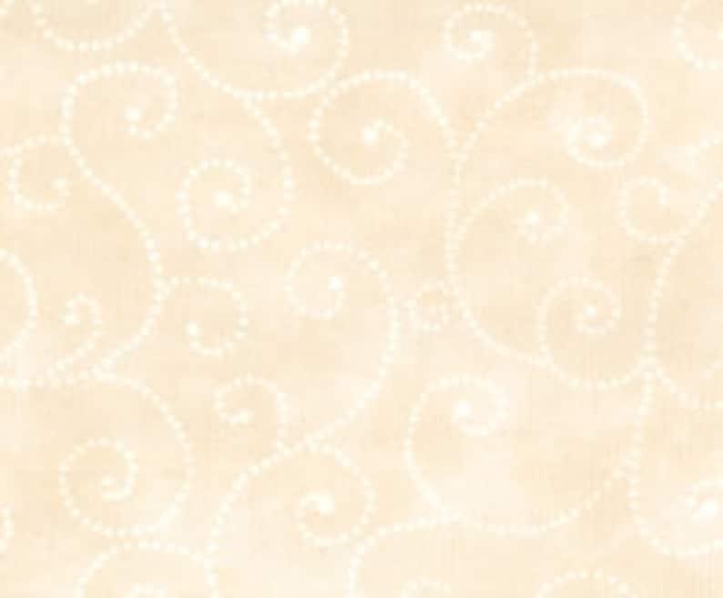 Moda Fabric  Marble Swirl  Ivory 1/2 yard  9908  21 Light image 0