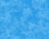 Moda Fabric - Marble - Cancun blue - Light Blue - 1/2 yard - 9808 Medium Sky Blue Marble - Cotton Fabric