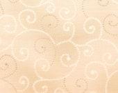 Moda Fabric - Marble Swirl - Light Tan -  1/2 yard - 9908 - 49 Light Tan with swirls - Cotton Fabric