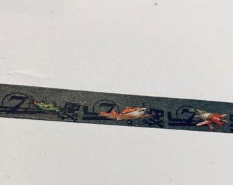 1760 Drag Race Washi Tape Race Flag Washi Tape 36 Sample Washi Tape or Full Roll