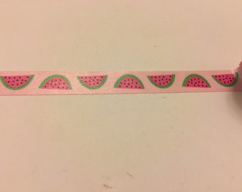 Washi Tape Sample; Watermelon; Japanese Florals
