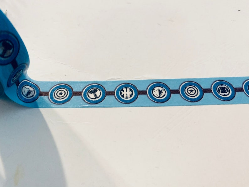 Avengers planner washi tape sample 18\u201d