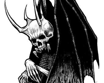 Infernal Original Drawing