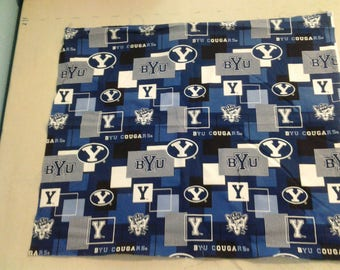Brigham Young University Cougars fabric 250115