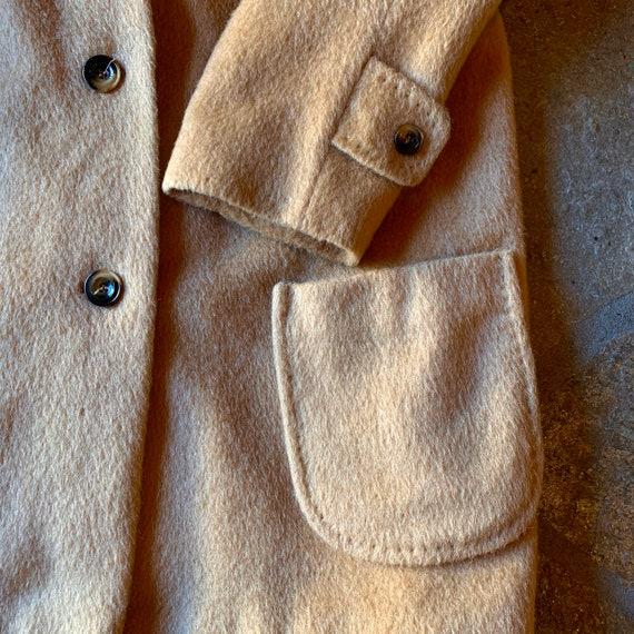 1960s Camel Mohair Coat