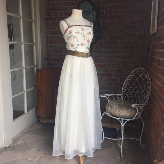 Emma Domb Sweetheart Floral Gown