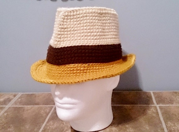 Crochet Fedora Hat Pattern Diagrams Photos Step By Step  02b6e6336a4