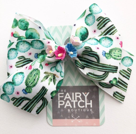 "6/"" Christmas Gift Printed with Bells Ribbon Hair Bow Hair Clips Girls Xmas Gift"