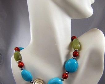 Turquoise Treasures Necklace