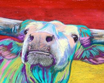 Mesquite Joe lll the Texas Longhorn