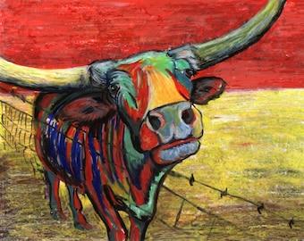 Cactus Jack and Mesquite Joe the Texas Longhorns