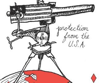 The U.S.A. Postcard * Portable Fortitude