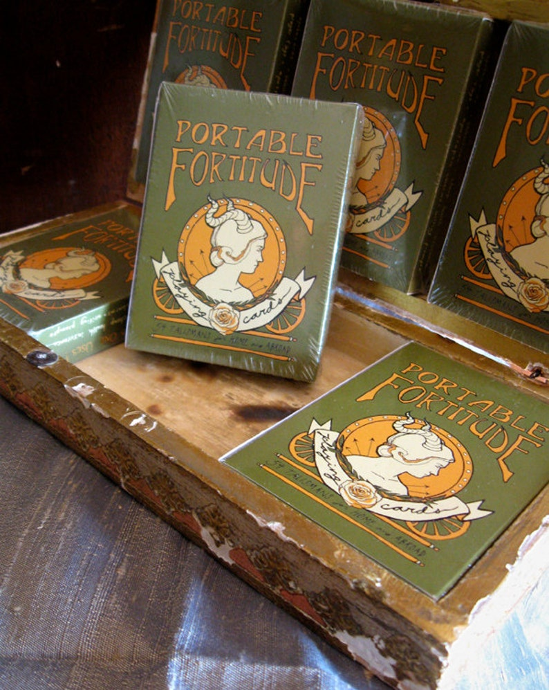 Portable Fortitude Playing Cards  Seventh Printing image 0