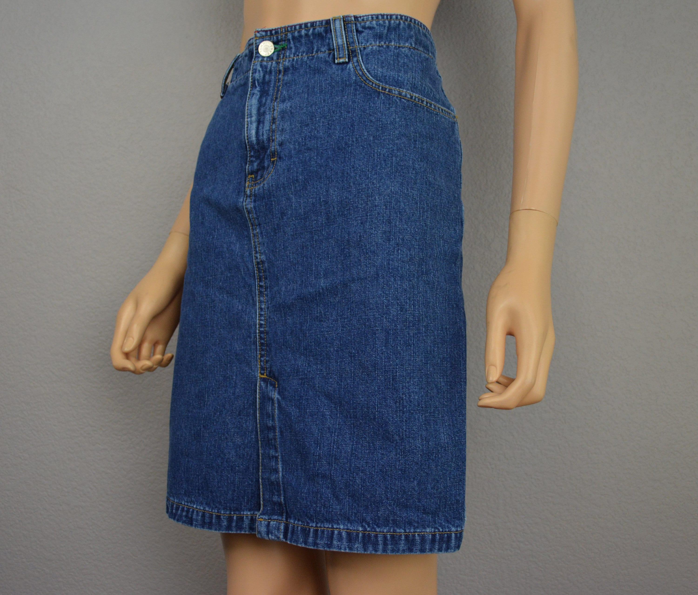 f29764373 Tommy Jeans 90s Denim Skirt