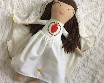 Our Lady of Fatima Doll / Saint Doll / Mary Doll / Catholic Toys / Catholic kids