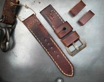 Vintage Swedish Mauser Ammo Watch Strap