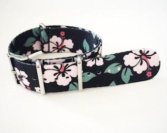 Tropical Floral NATO, Zulu Watch Strap - 22mm