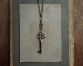 Antique Skeleton Key Necklace - Significance No. 061