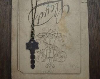 Antique Skeleton Key Necklace - Significance No. 058