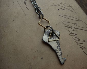 Antique Skeleton Key Necklace - Significance No. 053