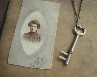 Antique Skeleton Key Necklace - Significance No. 043