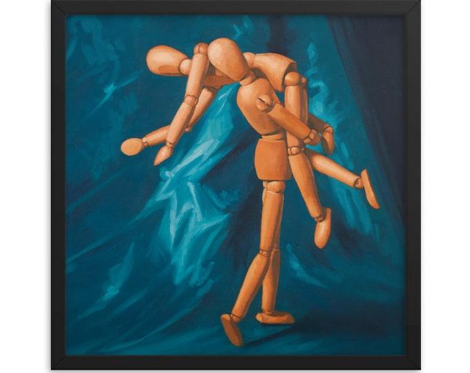 Dolls art prints Framed