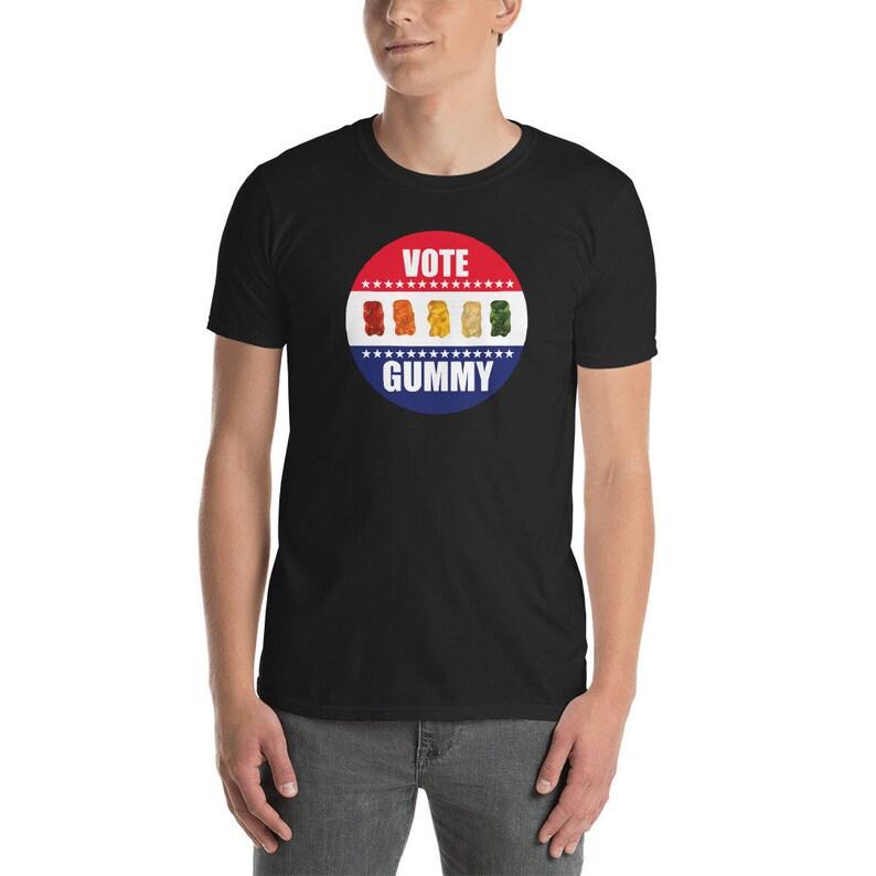 VOTE GUMMY Bears Short-Sleeve Unisex T-Shirt  Great gift for image 0