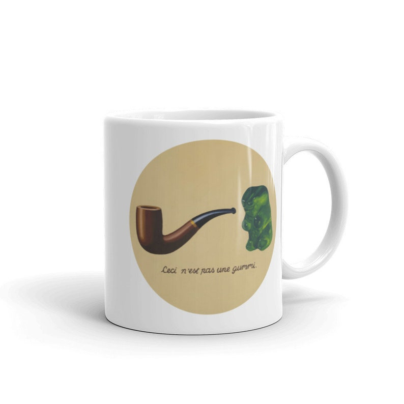 This is not a Gummy  11 oz mug from original painting image 0