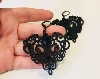 Gothic Skull Earrings