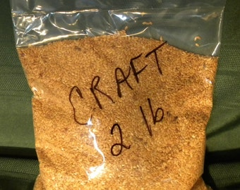 2 lb. Purity Seeds Whole Flax seed for Crafts
